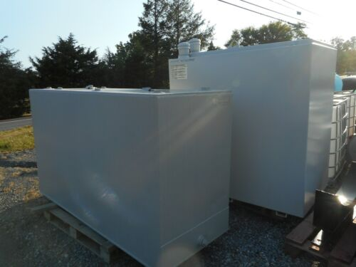 500 gallon double walled waste oil/fuel oil storage tank