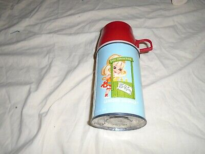 RARE LIDDLE KIDDLES THERMOS WITH RAISED RED LID