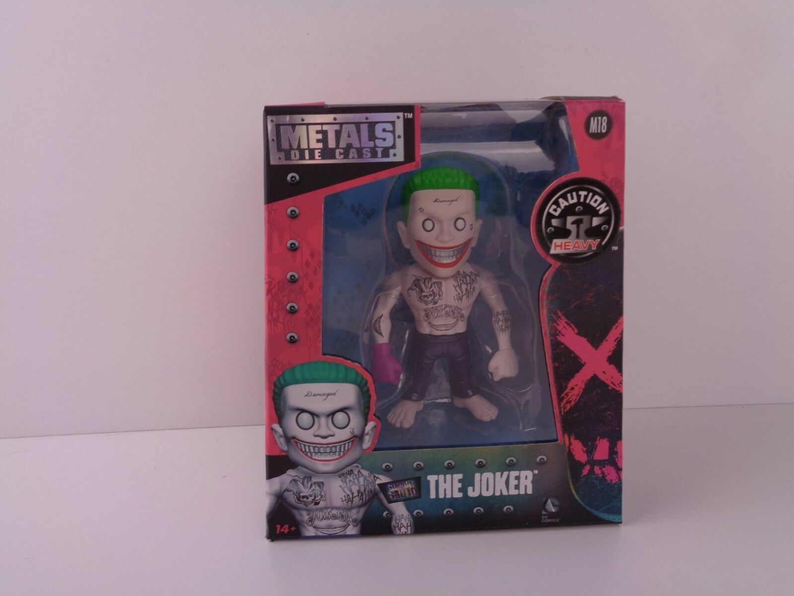 "Jada Toys 4/"" Metals Suicide Squad Diecast Figure 97566 The Joker"