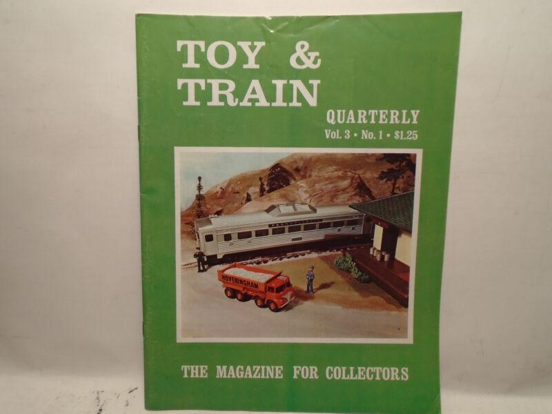 TOY & TRAIN QUARTERLY VOL.3, NO.1 SPRING 1969