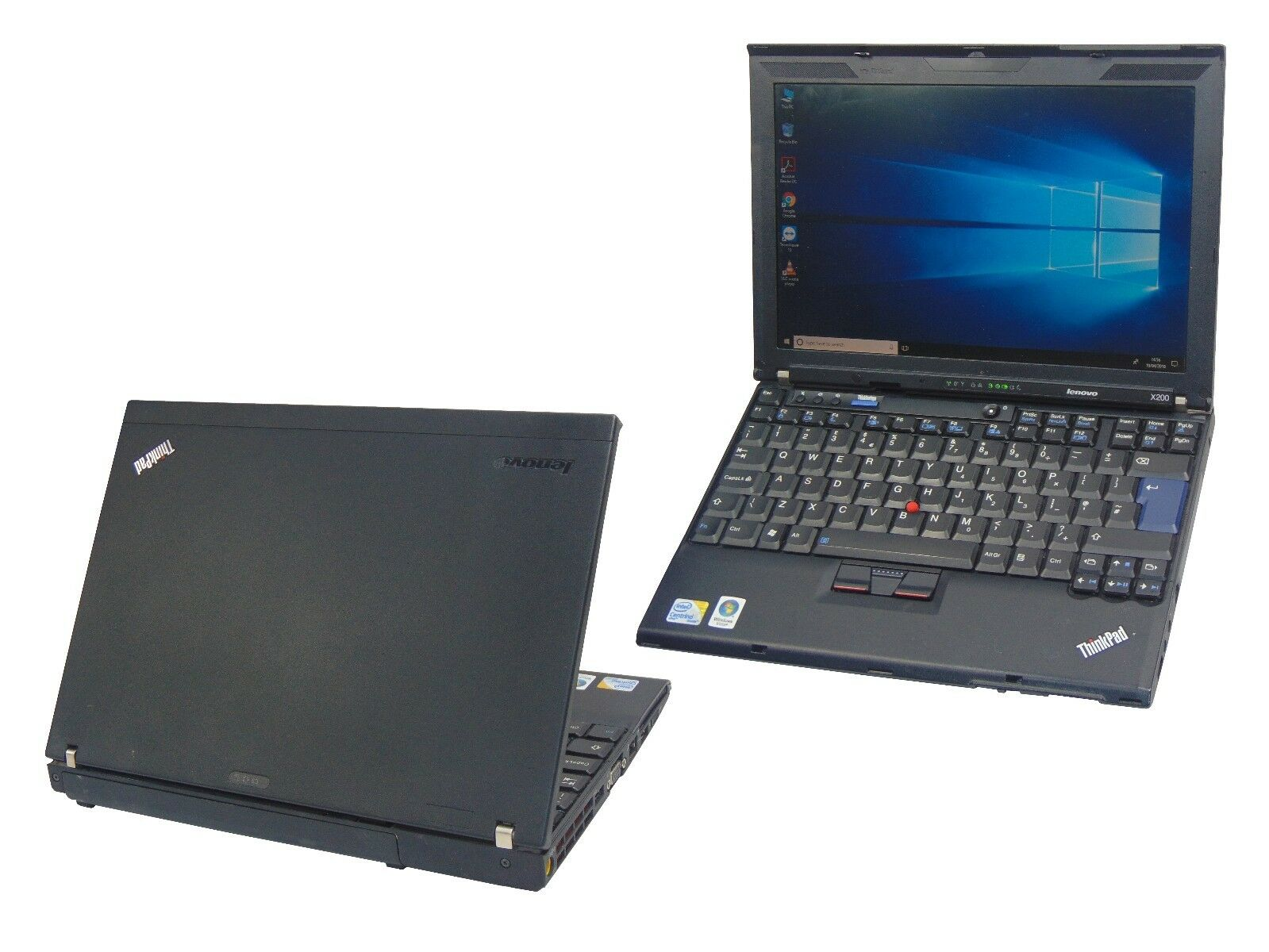 Laptop Windows - Lenovo Thinkpad X200 Core 2 Duo 4GB Ram 160GB HDD Lightweight Windows 10 Laptop