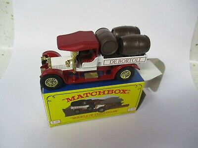 "Matchbox Yesteryear Code 2 Y-26 Crossley ""De Bortoli"", boxed"