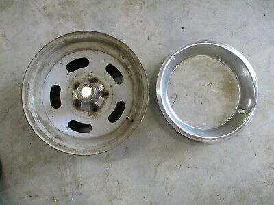 1972-1984 DODGE RAM TRUCK  D150 15X7 STEEL SLOTTED WHEEL RIMS OEM PROSPECTOR