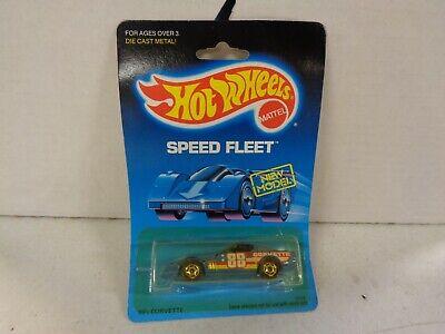 1988 Hot Wheels Speed Fleet 80's Corvette