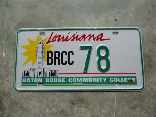 Louisiana Baton Rouge Community College license plate  #   78