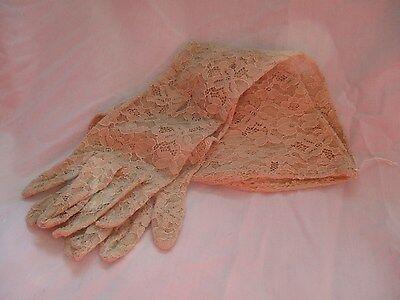 antique/vintage long lace gloves