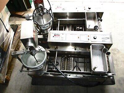 Donut Machines Fryer 2 Belshaw Mark Ii Working Condition 4500 Bargain
