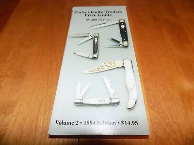 POCKET KNIFE TRADERS PRICE GUIDE Vol 2 1994 CASE BULLDOG Knives Rare Parker Book