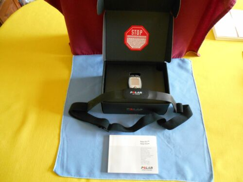 POLAR FT1 HEART RATE MONITOR WITH CHEST SENSOR BLACK NEED BATTERY