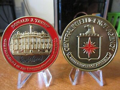 President Donald J Trump Central Intelligence Agency CIA POTUS Challenge Coin