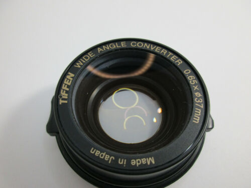 Tiffen Wide Angle Converter Lens .65 X 37mm