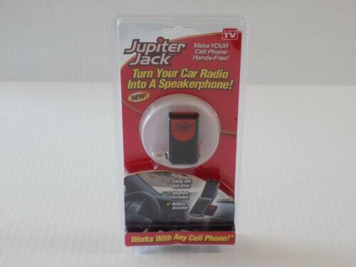 Jupiter Jack Hands Free Cell Phone Device Turn Your Car Radio Into Speakerphone