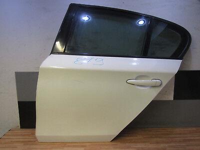 TÜR hinten links + BMW 1er E87 5-türer + Fahrerseite + Weiß Seitentür HL  - 1 Linken Seite Regal
