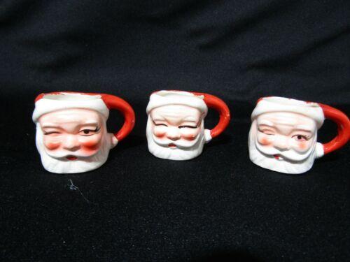 Vintage Smiling and Winking Santa