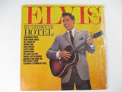 Elvis Presley Heartbreak Hotel LP Pickwick 1981 Sealed