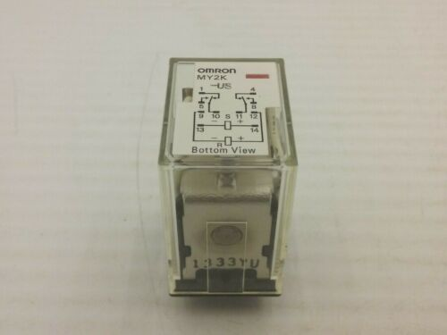 OMRON MY2K POWER RELAY 24VDC 10 PIN PLUG IN NNB