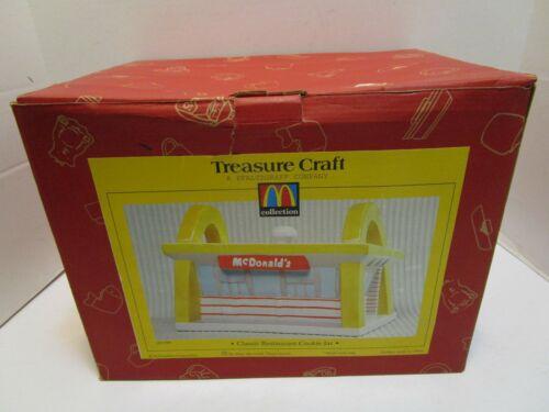 TREASURE CRAFT MCDONALDS CLASSIC RESTAURANT COOKIE JAR ***NEW IN BOX***