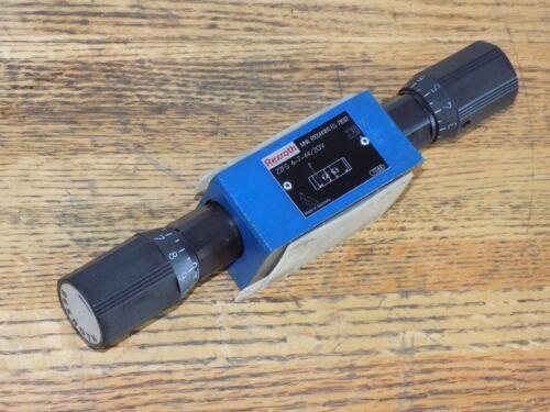 REXROTH BOSCH R900441810 SANDWICH THROTTLE CHECK FLOW VALVE Z2FS 6-7-44/2QV