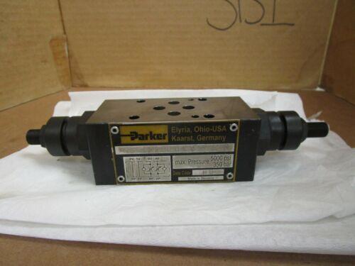 Parker Pressure Reducing Valve FM2DDDSV55 5000 PSI 350 Bar Used