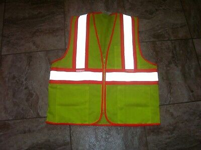 Tingley Class 2 Mesh Hi-vis Two-tone Traffic Safety Vest W Zipper Double Sized