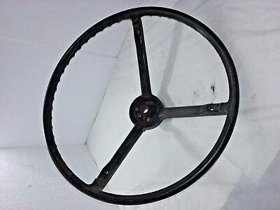 1967 Chevy Chevelle Nova Black Steering Wheel 9745764   - CNC169