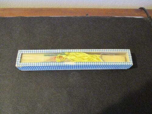 Vintage Souvenir Plastic Fan Hawaii With Original Glass Box Made In Hong Kong