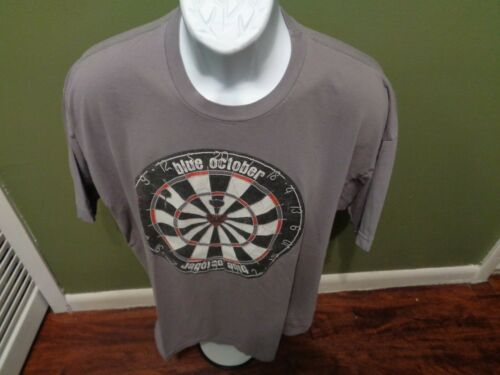 RARE  BLUE OCTOBER DARTBOARD Concert Tour Shirt Size XL