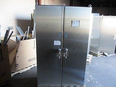 Hoffman Concept Prototype Stainless Steel Enclosure 2000x800 New Surplus