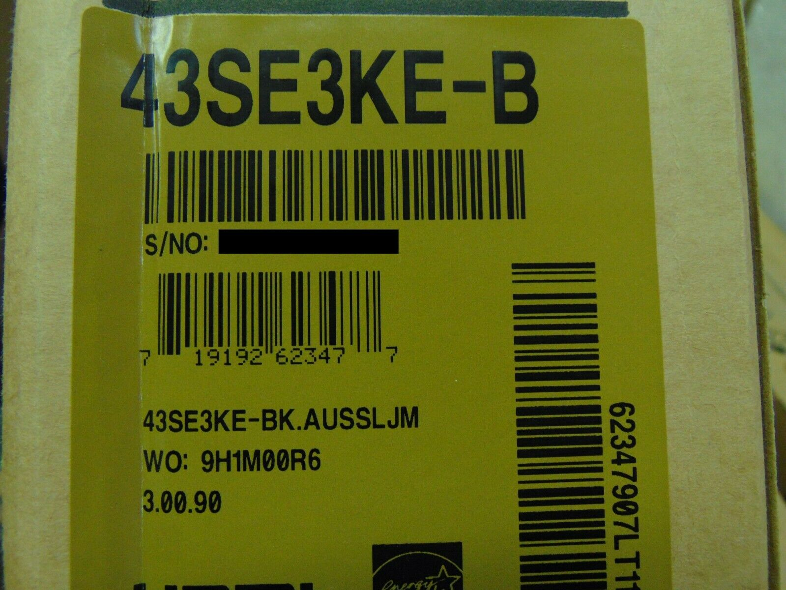 "LG 43SE3KE-B 43"" Full HD Digital Signage Display Black 43SE3KEB"