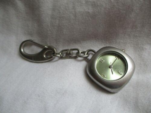 Hilton Analog Key Chain Watch with Quartz Movement