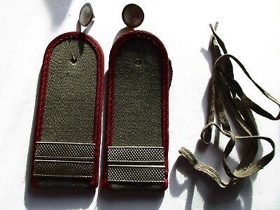 NVA 1 paar Schulterstücke Stabsgefreiter MfS Metallbalken