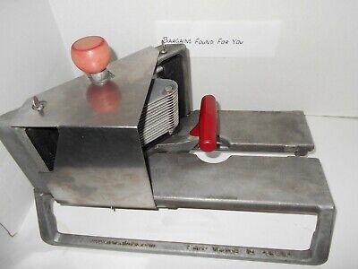 Vollrath 15105 Redco Instaslice 316 Fruit And Tomato Slicer Wscalloped Blade