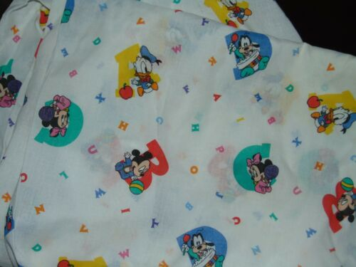 Disney Mickey Mouse Baby Fitted Crib Sheet Dundee Mattress Standard Size Toddler