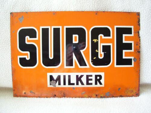 Vintage Surge Milker Metal Sign