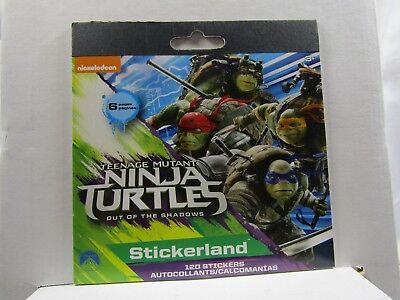 120 Teenage Mutant Ninja Turtles Stickers Party Favors Teacher (6 sheets)](Teenage Mutant Ninja Turtles Party Favors)