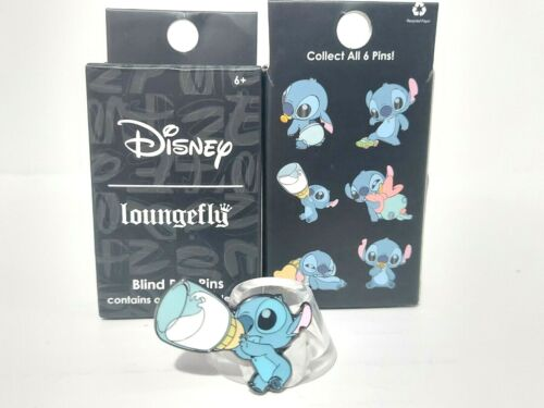 Lilo & Baby Stitch with Bottle of Milk Loungefly Mystery Blind Box Pin Disney