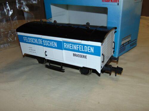 MARKLIN 1 54832 MAXI BOXCAR IN ORIGINAL BOX...