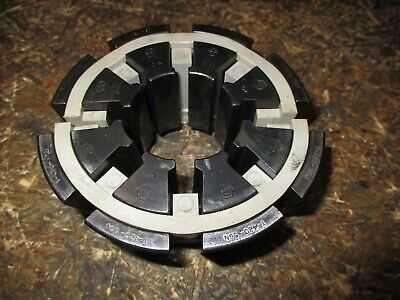 Used Weatherhead Hydraulic Hose Crimper Die Set T420-5cn 34 Collet Set