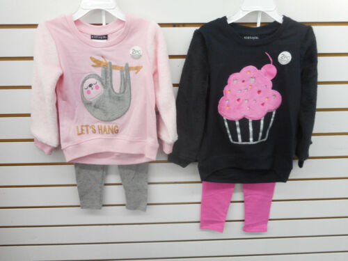 Toddler Girls & Girls Kidtopia 2pc Assorted Sets Sizes 2T - 6X