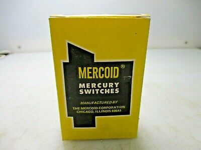 New Mercoid Mercury Switch 9-78sa