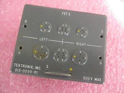 Tektronix Model 013-0099-01 Fet S Test Accessory