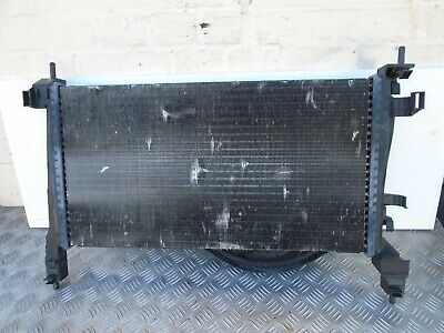Radiator & Cooling Fan frame Fits CITROEN Nemo  PEUGEOT Bipper 1.3 Diesel  08-14