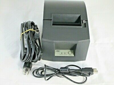 Star Micronics Tsp600 Point Of Sale Thermal Printer With Power Supply Tested