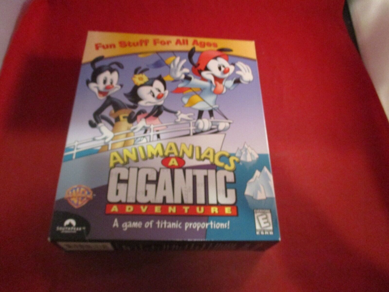 Computer Games - Animaniacs A Gigantic Adventure (Computer PC CD-ROM Windows 95 98) **BRAND NEW**