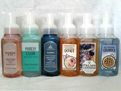 Body Works Foam - Brand New Bath & Body Works Gentle Foaming Hand Soap W/ Aloe Water (Your Pick)