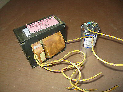 Advance 71a6031 Metal Halide Ballast 400w M59h33 Lamp 277v 1.75a Used