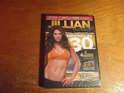 Jillian Michaels RIPPED IN 30 DAYS BEST SELLING  FITNESS DVD 3-2-1 SYSTEM