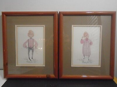 """VINTAGE P. BUCKLEY MOSS PRINT 14"""" X 11""""  LOT X 2  for sale  Mableton"""