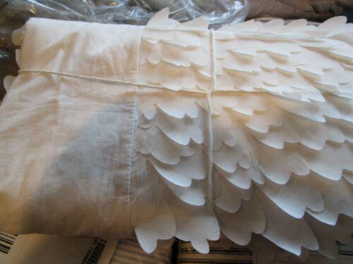 Pottery Barn Kids overlapping  Petal Petals  bedskirt bed skirt  crib New