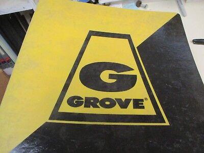 Grove Rt630b Rough Terrain Crane Parts Catalog Manual